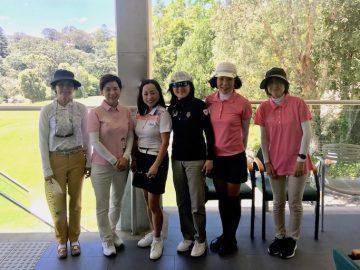 日本人会婦人ゴルフ部11月月例会を開催しました
