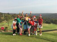 日本人会婦人ゴルフ部12月クリスマスコンペを開催しました