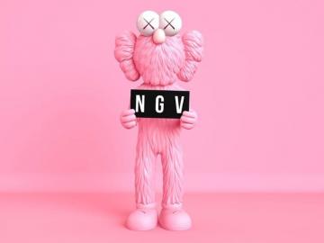 1月のメルボルンイベント/ポップアートの巨匠KAWSの作品展