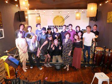 JJBAが今年最初のライブをCrows Nestのレストランにて開催