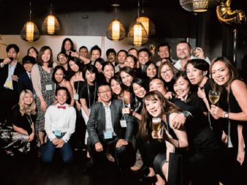 アイエス留学ネットワークが創立25年周年のパーティーを開催