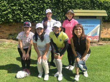 日本人会婦人ゴルフ部2月月例会を開催しました