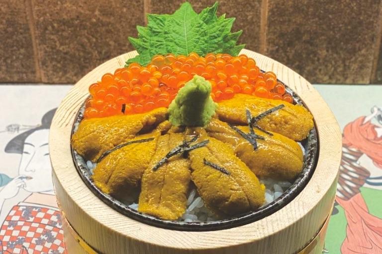 海鮮丼が新登場!SNSにお寿司の写真をアップでビール1本無料