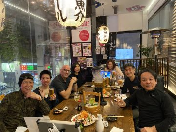 シドニーやまなし県人会「無尽」再開!@Yebisu Bar&Grill