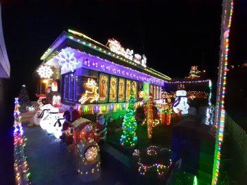 シドニーのクリスマスライトアップ