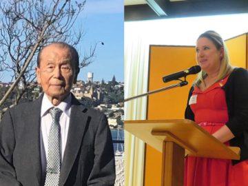 東京マートの舟山精二郎氏とJETAA NSWが外務大臣表彰