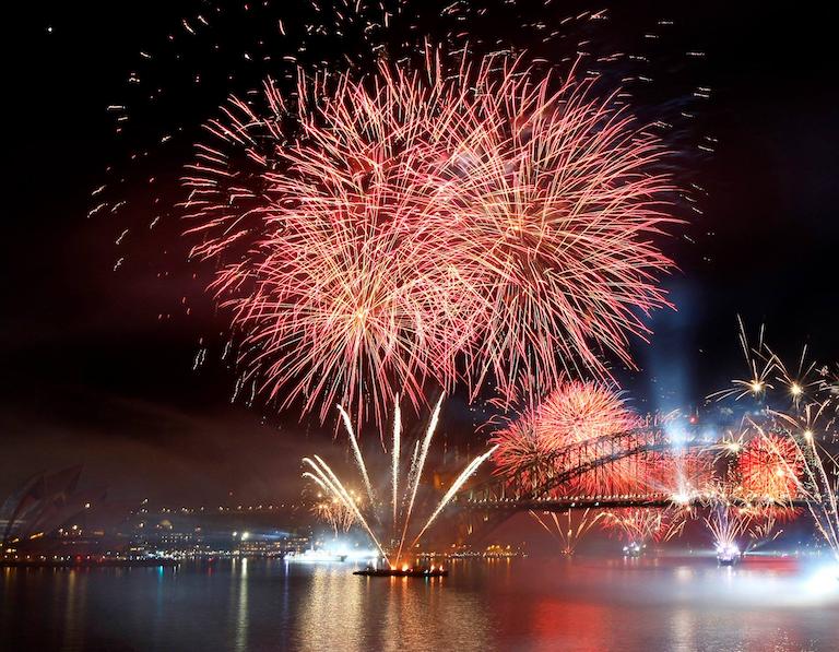 約30%オフ!2021年シドニーハーバー年越し花火クルーズ