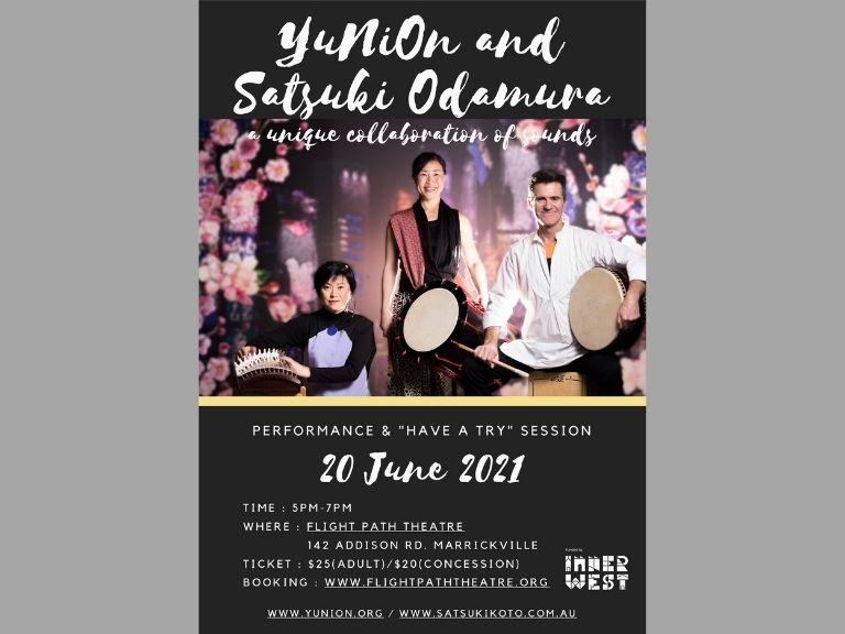 6月のシドニーイベント/体験もできる和太鼓と箏のコンサート