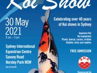 5月のシドニーイベント/錦鯉品評会「The Sydney Koi Show」開催